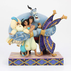 Jim Shore 6005967 Aladdin Group Hug 2020 NEW Genie Disney Traditions