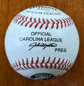 Official Carolina League Baseball Celebrating Durham Athletic Park 1939 - 1993