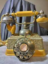 Vintage french continental ornate rotary telephone