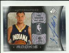 Sarunas Jasikevicius 2005-06 SP Authentic Rookie Autograph #111 #0446/1299  Auto