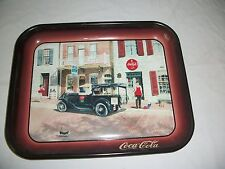 "Coca-Cola Metal Tray "" Pops General Store "" St. Charles Missouri 1931"