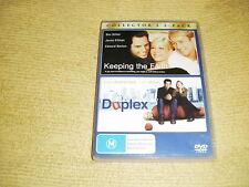 KEEPING THE FAITH 2000 + DUPLEX = 2 DVD near NEW Ben Stiller comedy romance R4