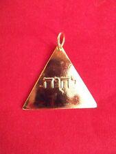 Franc-Maçonnerie Bijou symbolique TFPM -  Masonic jewel