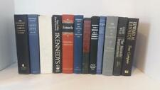 12 Hardcover Books About John F. Kennedy Office Bookshelf Decoration Props