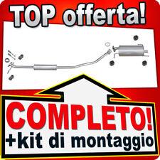 Scarico Completo OPEL AGILA B 1.2 / SUZUKI SPLASH 1.2 Marmitta R11
