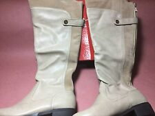 $99 G By Guess Women's Nina Boots Full Zip Faux Leather/Suede Size 8.5