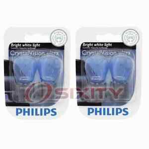 2 pc Philips Back Up Light Bulbs for Ford Aerostar Bronco Bronco II Cougar nn