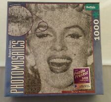 Marilyn Monroe 1000 pc Puzzle Buffalo Games SEALED Photomosaics NEW Movie Star