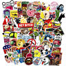100x Vinyl Skateboard Stickers bomb Laptop Luggage Decals Dope Sticker lot cool