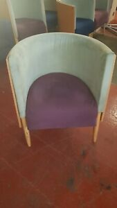 Allermuir Large Tub Chairs - 8 in total