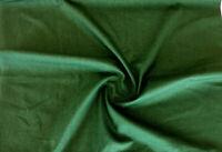 Uni Stoffe 100% Baumwolle Farbe Grün.Meterware Patchwork Basteln Deko Fahnentuch