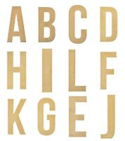 Full Alphabet Large Wooden Letters 28cm Alphabet Wall Hanging Party Home Baby
