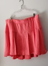 Women's Torrid Size 20 Coral Pleated Skirt