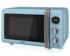 Swan Sm22030bln 800w 20l Microwave Oven Blue