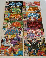 Alpha Flight # 111,112,113,114,115,116,117,118,119,120 (Marvel 1992)   Very Fine