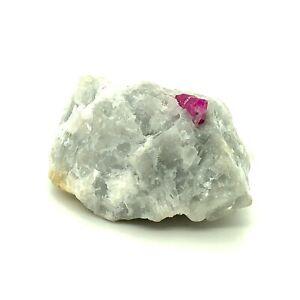31g Pink Sapphire / Ruby Specimen Jegdalek 45x30x25 Natural Gemstone *Video*
