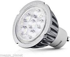 Samsung 4.6w = 35w GU10 LED 40D Spot Light Bulb/Lamp WARM WHITE 3000k