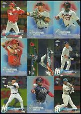 (100+) 2018 Topps Chrome Update UNASSORTED Rookie, Insert, Base LOT Ohtani Acuna
