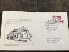 stamps Denmark 🇩🇰 Fdc 1983,50th Anniv. Of 1st Danish Stamp in Steel Eng, #774