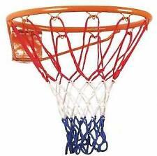 44-46 cm weiß New Port 2x Basketball Netz mit 12 Ösen *NEU*
