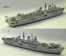 1:400 Scale HMS Invincible (R05) Aircraft Carrier Handcraft Paper Model Kit