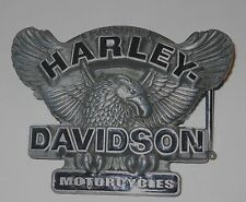 2007 Harley-Davidson® Belt Buckle Eagle With Blue Enamel Letters Great Condition