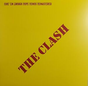 THE CLASH - GIVE 'EM ENOUGH ROPE DEMOS REMASTERED - RED vinyl LP (New) PUNK