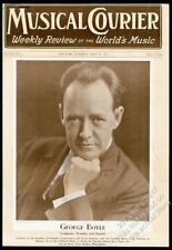 1931 George Boyle photo Musical Courier framing cover