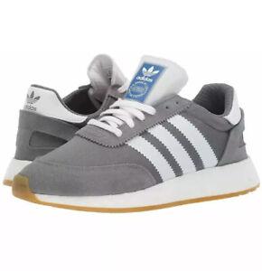 Adidas Originals I-5923 Running Shoes Athletic  Grey-White-Gum Iniki G27410