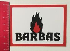 Aufkleber/Sticker: Barbas (040616100)