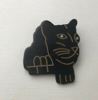 Vintage Tiger Brooch pin