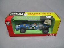 AJ772 SOLIDO 1/43 MATRA V8 F1 JACKY STEWART #8 Ref 173 ETAT MOYEN