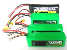 8 Pieza Usado Lipo Baterías 1.800MAH hasta 5.200 MAH