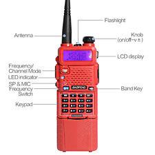 1 X BaoFeng UV-5R Dual UHF/VHF Radio Transceiver + 3800mah Battery Walkie Tlakie