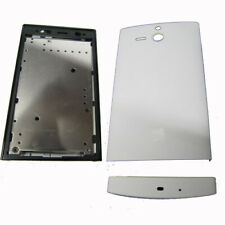 Full Fascia Housing Back Battery Cover For S Eric Xperia U ST25 ST25i White UK