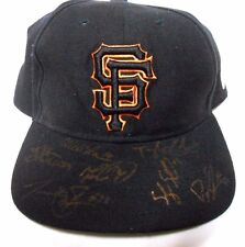 Ty Blach Jack Snodgrass Signed Autographed Squirells SF Giants Baseball Cap Hat