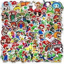 Super Mario Stickers 100 Decal Lot