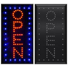 1910 Vertical Animated Motion Led Light Open Neon Business Sign Bar Cafe Shop