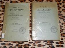 HISTOIRE DE L'ENSEIGNEMENT DANS LE DEPARTEMENT DE LA MANCHE de 1789 à 1808