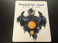 Pacific Rim:  Uprising Steelbook with Blu-Ray and DVD Set