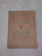La Revue de l'époque - Avril 1921 - Faut il fusiller les dadaistes ?