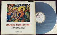 Rare Audiophile Markevitch Stravinsky The Rite Of Spring LP HMV ASD 313 UK ED1