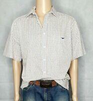 R.M Williams Check Short Sleeve Shirt  REGULAR FIT Men's Size L