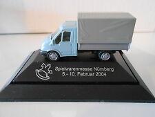 """Rietze , Ford Transit Pritsche , """"Spielwarenmesse Nürnberg 2004 """" , 1:87"""
