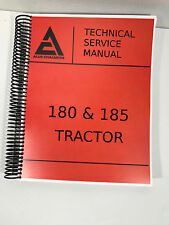 Allis Chalmers 180 Tractor Service Manual Overhaul repair Technical shop manual