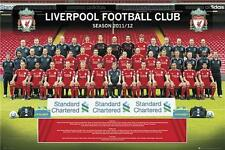 L'équipe de Liverpool photo 2011 - 2012-Maxi Poster 61 cm x 91,5 cm (new & sealed)