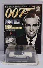 James Bond 007 Sean Connery FORD THUNDERBIRD Modello Diecast #111