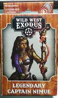 Wild West Exodus Legendary Captain Nimue - Plastic - 2017