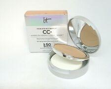 It Cosmetics Your Skin But Better CC+ Airbrush Perfecting Powder ~ Tan ~ .33 oz