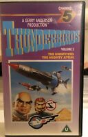 Thunderbirds Volume 5 Channel 5 VHS Video Polygram 1987 Gerry Anderson